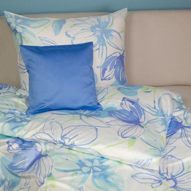 posteljnina iz satena fleuresse summertime 5309