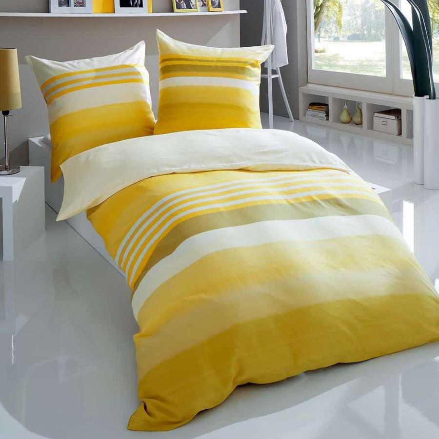 posteljnina iz satena kaeppel sweet home limone