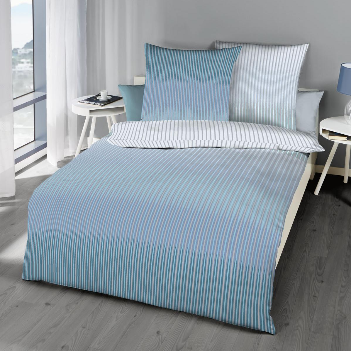 posteljnina kaeppel skala modra