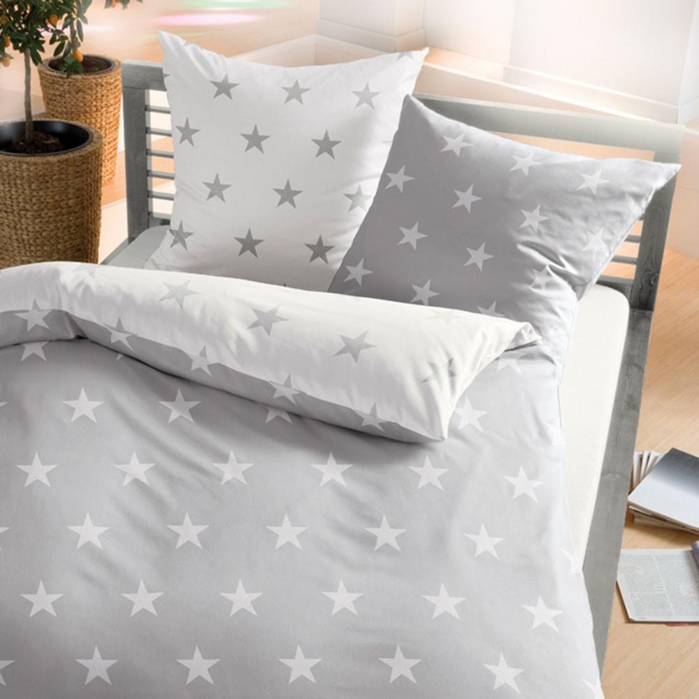 posteljnina iz flanele kaeppel zvezdice