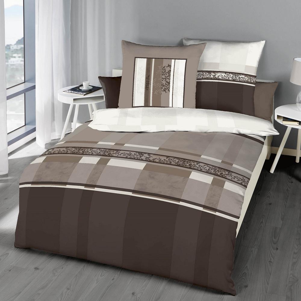 posteljnina iz flanele kaeppel Etienne - rjava