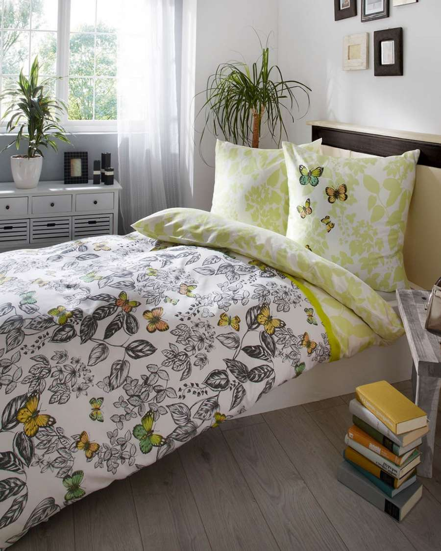 posteljnina iz satena kaeppel sweet home fascinate
