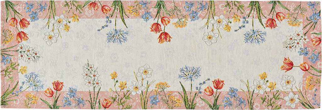 Namizni tekač 32x96 Sander - Spring flowers