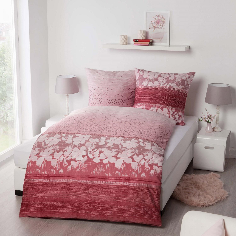 posteljnina iz flanele kaeppel Promise - rdeča
